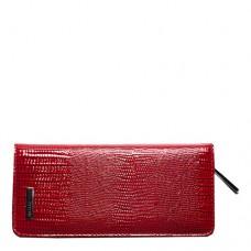 Ключница кожаная женская Karya 102-074 красного цвета