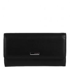 Кошелек кожаный женский Karya 1061-45  черного цвета