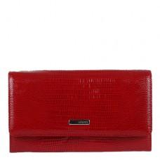 Кошелек кожаный женский Karya 1088-074 красного цвета