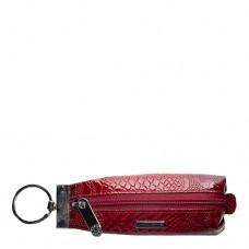 Ключница кожаная женская Karya 446-019 красного цвета