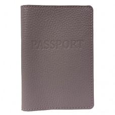 Обложка для паспорта кожаная Астра (Украина) 58850013 лавандового цвета