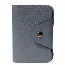 Визитница кожаная Felicita 58850020 голубого цвета