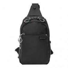 Рюкзак мужской  Fouvor 2802-05 черного цвета
