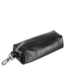 Ключница кожаная женская Grande 215-00 черного цвета