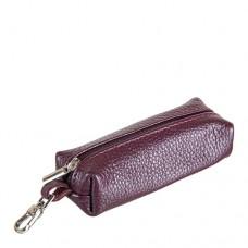 Ключница кожаная женская Grande 215-09 бордового цвета