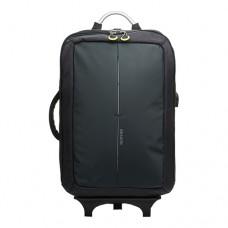 Рюкзак на колесах унисекс Skybow 1017 черного цвета