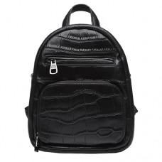 Женский кожаный рюкзак 5005 черного цвета