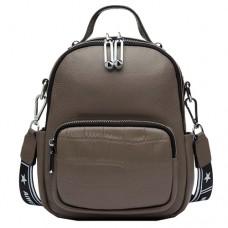 Женский рюкзак Vito Torelli 6-580 серого цвета