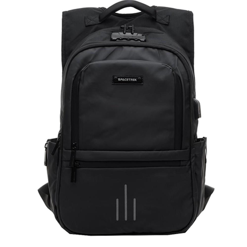 Рюкзак для ноутбука Spacetrek  19-676 черного цвета